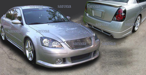 2002-2006 Nissan Altima Sarona Body Kit - Rear Apron