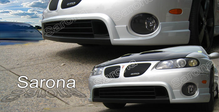Pontiac gto body kits at andys auto sport front add on sciox Choice Image