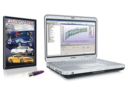 89-11 Ford Vehicles SCT Advantage III Pro Racer Software Package - Software & USB Key