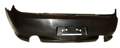 03-06 Tiburon Sherman Bumper Cover (Primer Finish) (CAPA Certified) - Rear