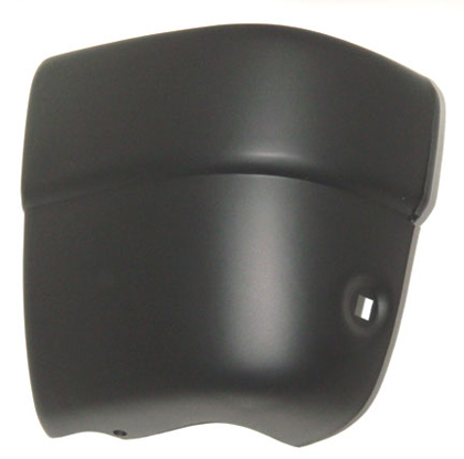 94-97 Passport Sherman Bumper End (Black) (Left Hand) Rear