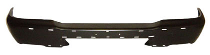 01-08 Pick-Up Sherman Front Bumper w/Pad Holes - Black
