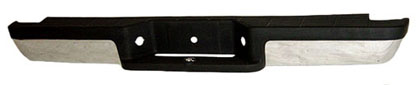 94-07 Pick-Up Sherman Step Bumper Assembly (Rear) - Factory Style w/ Pads & Brackets Chr Ranger Styleside