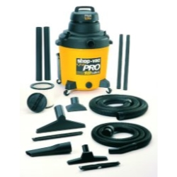 Universal (All Vehicles) Shop Vac 6 HP 18 Gallon Wet / Dry Vacuum With Poly Tank
