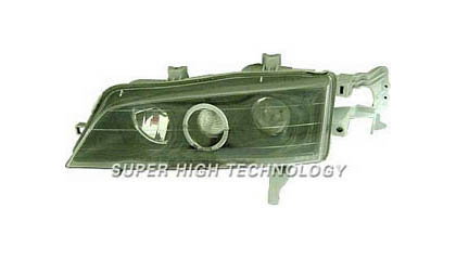 94-97 Honda Accord SHT Headlights - Clear Projectors w/ Rim (Black Housing)