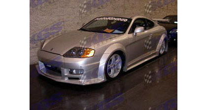 03-06 Hyundai Tiburon Silk Automotive Fiberglass Fenders - GM