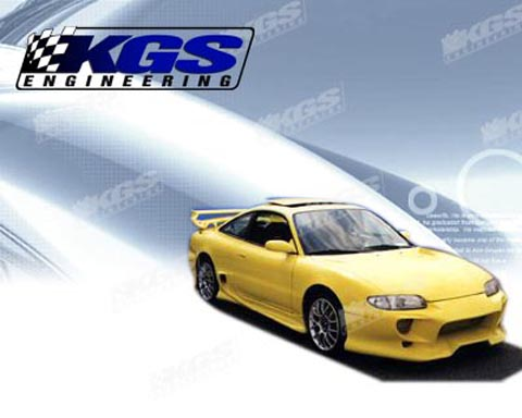 93-97 Mazda MX-6 Silk Automotive Invader Body Kit - Full Kit