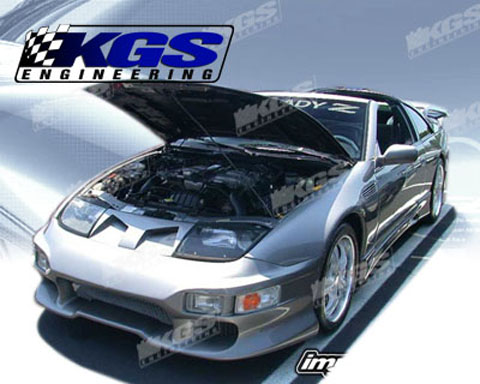 1990-1996 Nissan 300zx Silk Automotive Invader Body Kit- Front Bumper