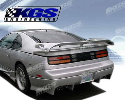 1990-1996 Nissan 300zx Silk Automotive Invader Body Kit- Rear Bumper