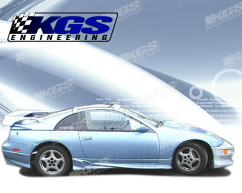 1990-1996 Nissan 300zx Silk Automotive Invader Body Kit- Side Skirts