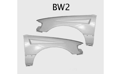 88-91 Honda Crx Silk Automotive Fiberglass Fenders - BW2