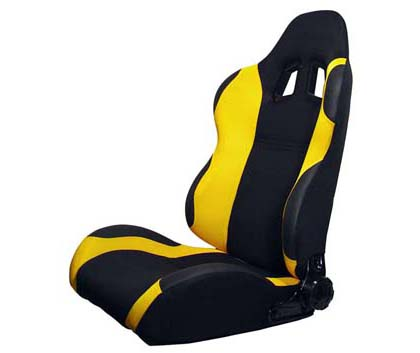 Racing Auto Seats on Rs Tr Bkyl Silk Racing Seats   Both Sides  Yellow  For 05 Up Chevrolet
