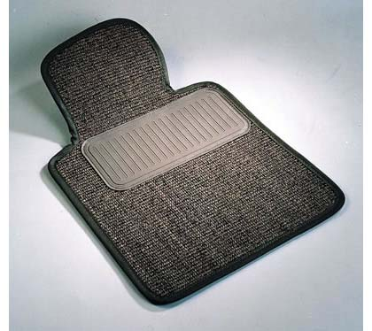 ?01-?02 MDX (Medium SUV) 2nd Seat Sisal Custom Floormats - 1-Piece Rear - Black