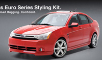 2008-2011 Ford Focus 3D Carbon Euro Body Kit