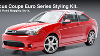 2008-2011 Ford Focus 3D Carbon Euro Series Body Kit