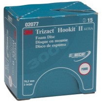 "1979-1982 Ford LTD 3M Trizact HooKit II Foam Disc, 3"" P300 Grit- 15 Discs per Box"