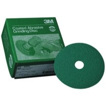 "1968-1976 BMW 2002 3M Green Corps 5"" x 7/8"" Fiber Disc - 20 Discs per Box"
