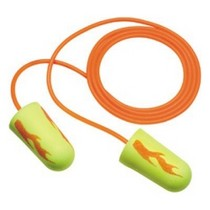1960-1964 Ford Galaxie 3M E-A-R soft Corded Earplugs Neon Yellow Blasts