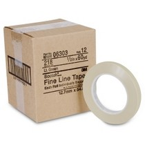 "1958-1961 Pontiac Bonneville 3M Scotch® Fine Line Tape, 1/2"" x 60 yd., Green"