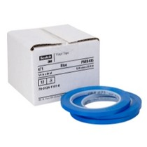 Universal (All Vehicles) 3M Scotch® Plastic Tape 471, Blue, 1/4