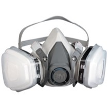 Universal (All Vehicles) 3M Dual Cartridge Respirator Packout, Organic Vapor/P95, Medium