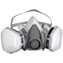 Universal (All Vehicles) 3M Dual Cartridge Respirator Packout, Organic Vapor/P95, Large