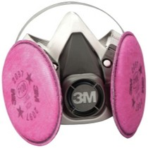 Universal (All Vehicles) 3M Half Facepiece Respirator Packout, Medium, With 3M Particulate Filters