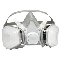 Universal (All Vehicles) 3M Dual Cartridge Respirator Assembly, Organic Vapor/P95, Small
