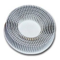 "1968-1976 BMW 2002 3M 3"" Scoth-Brite Roloc Bristle Discs 120 Grit Fine White"