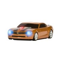 2003-2009 Toyota 4Runner Four Doors Media Camaro (Atomic Orange With Black Stripes) Wireless Mouse