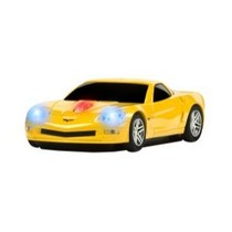 2003-2009 Toyota 4Runner Four Doors Media Corvette (Yellow) Wireless Mouse