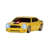 2000-2007 Ford Taurus Four Doors Media Dodge Charger (Yellow 'Super Bee') Wireless Mouse