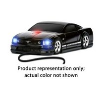 2003-2009 Toyota 4Runner Four Doors Media Mustang GT (Blue With White Stripes) - Wired Mouse