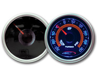 1967-1968 Mercury Brougham AC Autotechnic Gauges - S7 Invision Oil Temperature