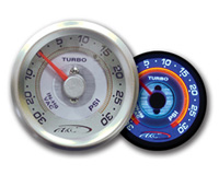 1967-1968 Mercury Brougham AC Autotechnic Gauges - S7 Race Turbo/Boost