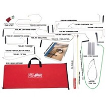 2003-2006 Mercedes Sl-class Access Tools 23 Piece Value Complete Car Opening Set