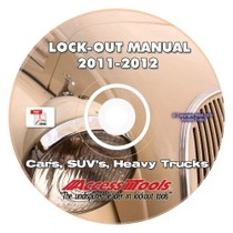 1998-2000 Volvo S70 Access Tools Car Opening Tools Manual On CD-ROM
