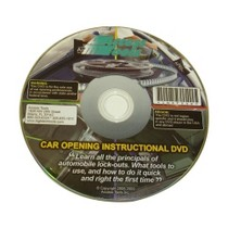 1997-2001 Cadillac Catera Access Tools Auto Opening Training DVD