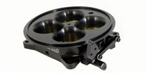 4500 Squarebore Pattern 4-Barrel Muscle Car (Universal) Accufab 4-Barrel 4500 Throttle Body - Black