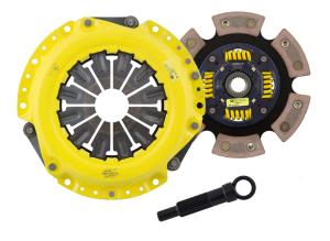 9 ACT 6-Puck Sprung Race Disc For Mitsubishi 03-06 Evo 8