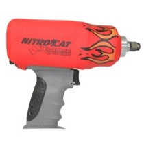 1998-2000 Geo Prizm AirCat NitroCat Red Flame Impact Boot for 1200-K
