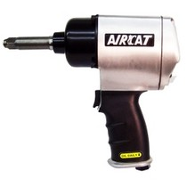 "2003-2006 Mercedes Sl-class AirCat 1/2"" Twin Hammer Aluminum Impact Wrench With Extended Anvil"