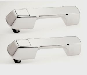 Inside Interior Door Handle Satin Chrome Front/&Rear Right for 07-12 Dodge Nitro