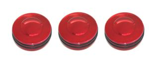 98-01 Dodge Fullsize Truck, 98-01 Dodge Pickup AllSales Interior Dash Knobs - O-Ring (Red)