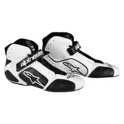 1988-1994 Audi V8 Alpinestars Tech 1-T Shoes - White Black - Size 10.5 (US)