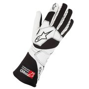 1987-1993 Volvo 240 Alpinestars Tech 1-Z Gloves - Black White - Size L (US)