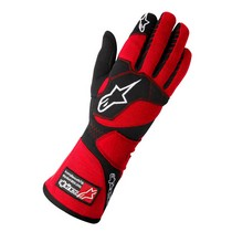 1987-1993 Volvo 240 Alpinestars Tech 1-Z Gloves - Red Black - Size L (US)