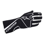 1987-1993 Volvo 240 Alpinestars Tech 1 Race Gloves - Black White - Size L (US)