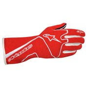 1987-1993 Volvo 240 Alpinestars Tech 1 Race Gloves - Red White - Size L (US)