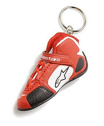 1998-2000 Chevrolet Metro Alpinestars Tech 1 K Keychain - Red White - Packs Of 10